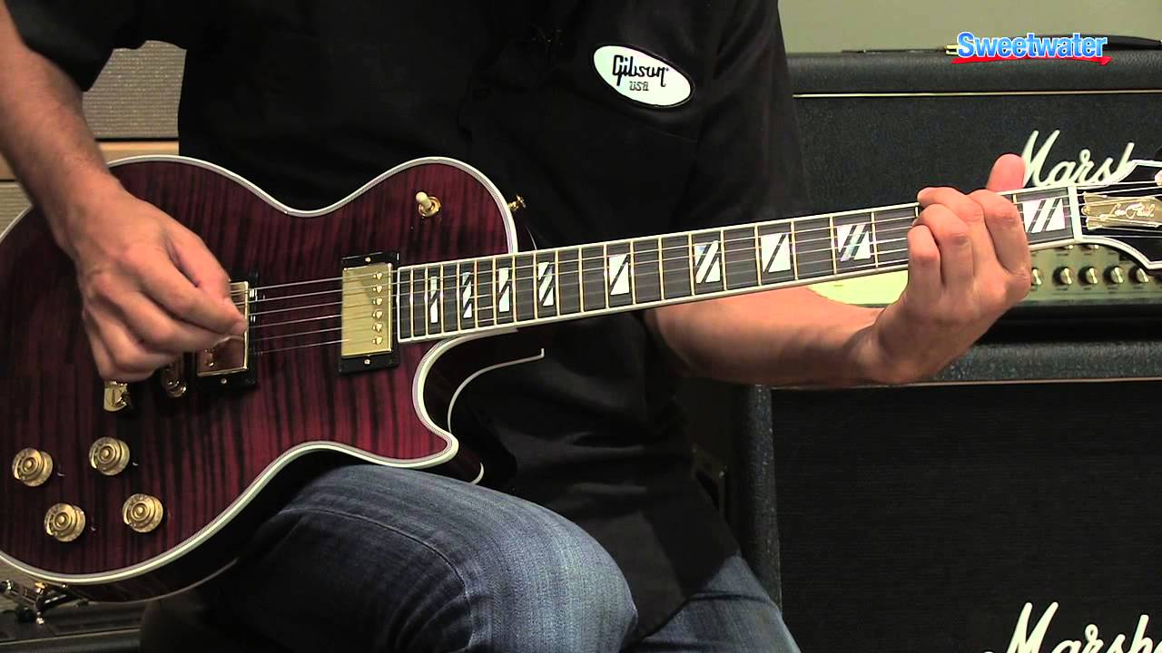 Gibson Les Paul Supreme Electric Guitar Demo Sweeer Sound You
