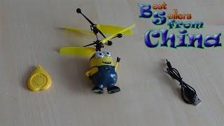 видео Летающий Миньон. Хит! Подарите героя мультфильма Вашему ребенку.