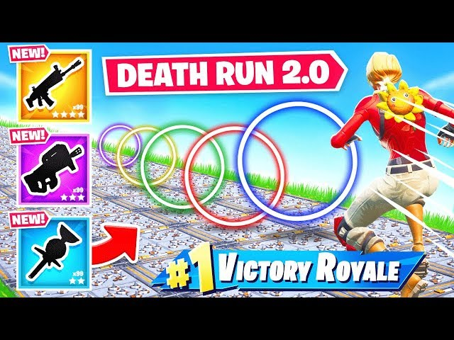 LOOT RACE DEATH RUN 2.0 *NEW* Game Mode in Fortnite Battle Royale