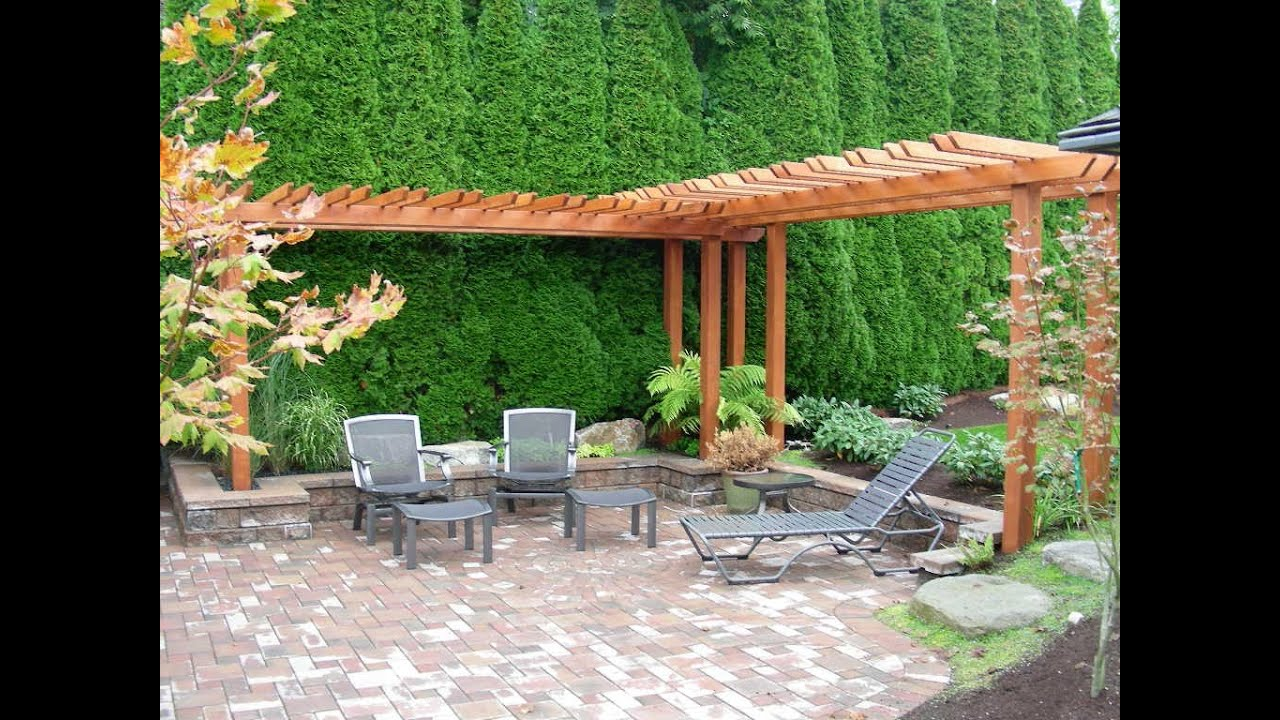 Backyard Garden Designs landscaping back yard trees along fence more Backyard Gardening Ideas I Backyard Garden Ideas For Small Yards Youtube