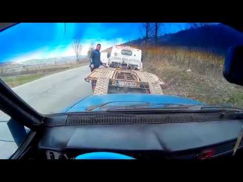 Engine Failure ► Car Towing (Platform, Hook, Winch, Cable)