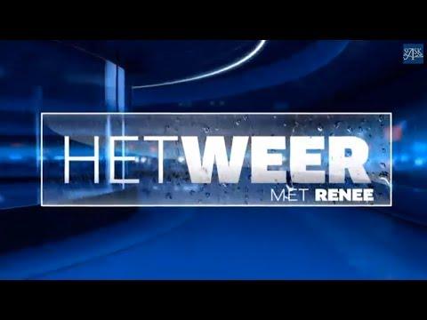 Het weer... met Renée! - YouTube