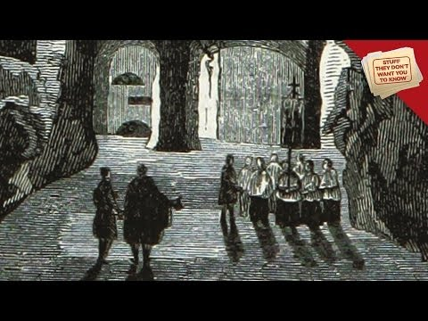 What's inside the catacombs? | @ConspiracyStuff