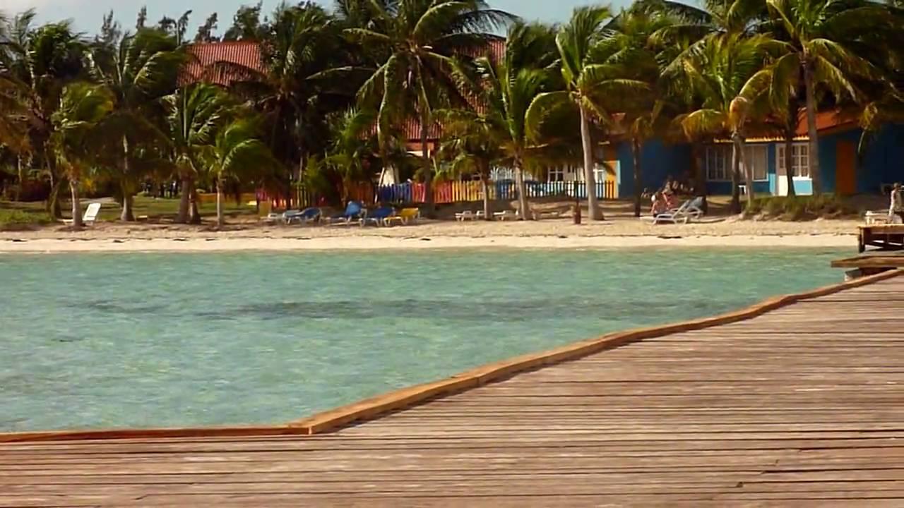 Cuba Cayo Guillermo Gran Caribe Club Villa Cojimar View From The Boardwalk Hd