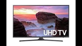 Samsung 4K, HDR, Ultra HD, Smart TV- review UN40MU7000- Amazing!