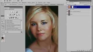Видеоурок Photoshop Ретушь и макияж