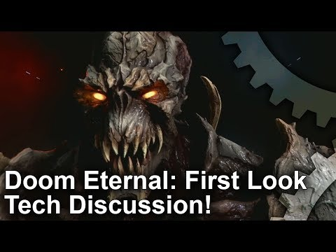 Doom Eternal: First Look + Tech Discussion!