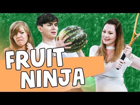 🍎💪 FRUIT NINJA & MagdalenaMariaMonika 😜 | Tymbark SHOW #12