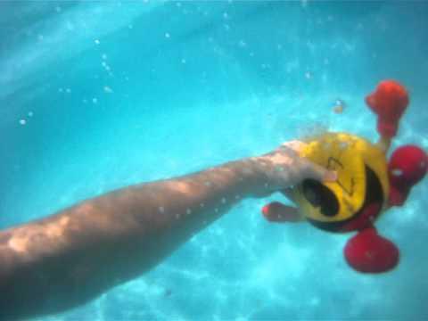 Pac-Man Underwater