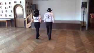 Country 2 Step Line Dance Teach & Dance