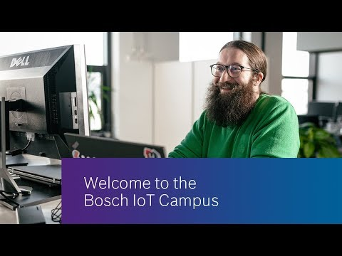 Office Working Spaces At The Bosch IoT Campus (360° Tour)