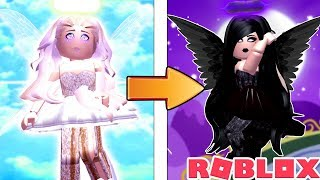 LIGHT FAIRY TO DARK FAIRY TRANSFORMATION IN ROBLOX!