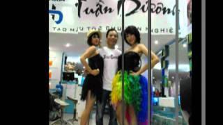 Hair salon tuan duong  Diễm Hằng và Emily Hoàng Thùy Linh vannavy
