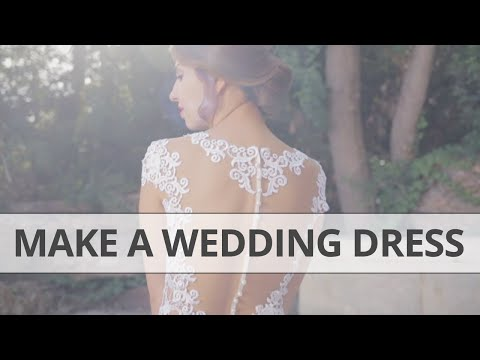 making-a-wedding-gown