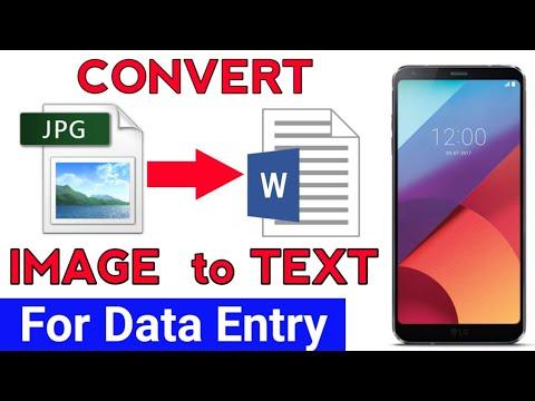 how to convert image pdf to editable pdf