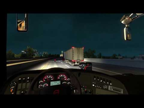 American Truck Simulator Bus trip to Indianapolis with Volvo 9700