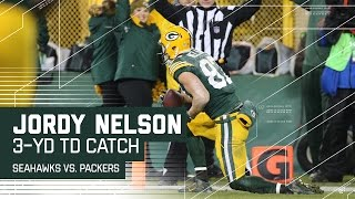 Russell Wilson's 4th INT Leads to Aaron Rodgers' TD Pass to Jordy Nelson! | NFL Week 14 Highlights
