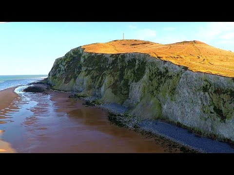 France's Pas de Calais headlands: Where dramatic landscape beautifully marries nature's untamed...