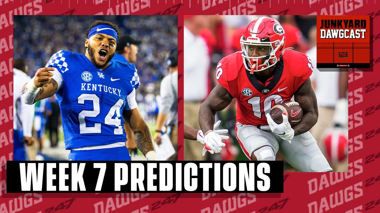 Download Week 7 Predictions! Dawgs and Cats square off in a battle of the unbeatens!   Junkyard Dawgcast
