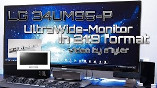LG 34UM95 Ultrawide 3440x1440 21:9 Monitor (PC/PS4 Gaming, Dual Setup & Test) // Video by s7yler