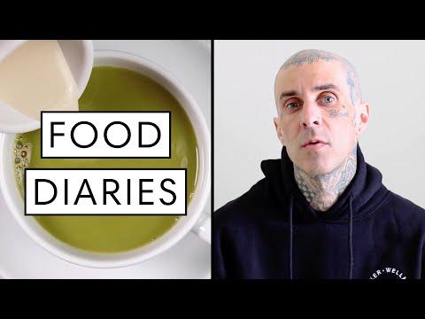Everything Travis Barker Eats in a Day: Vegan Edition | Food Diaries: Bite Size | Harper's BAZAAR