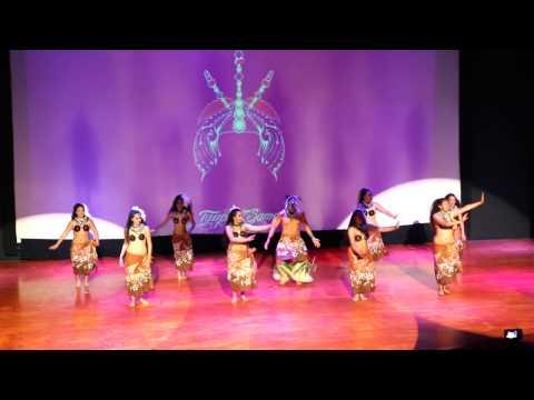 TAUPOU SAMOA'S LOGO TE PATE PERFORMED IN MEXICO CITY FOR TE MANA O PORINETIA 2017