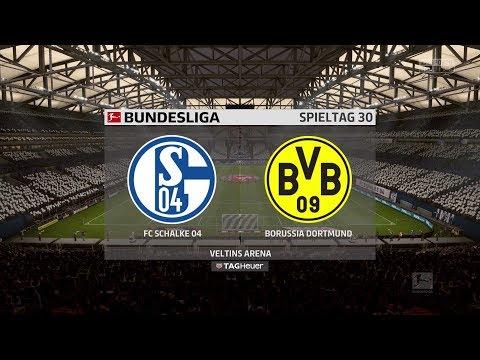 FIFA 18 Bundesliga Prognose | FC Schalke 04 - Borussia Dortmund