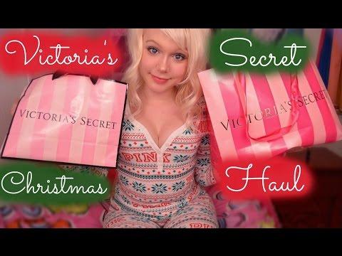Victoria's Secret CHRISTMAS/WINTER Haul - Charlotte Winslow