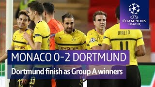 AS Monaco vs Borussia Dortmund (0-2) | UEFA Champions League Highlights