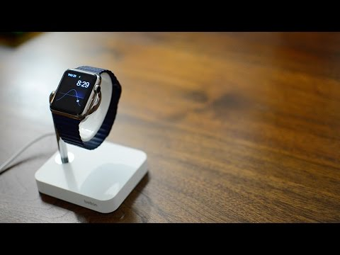 Belkin Watch Valet Charging Stand For Apple Watch - Review