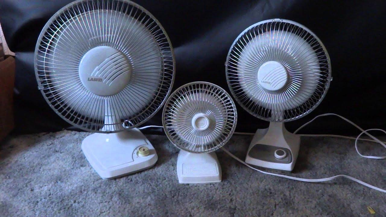Beau 1990u0027s Lasko Desk Fans