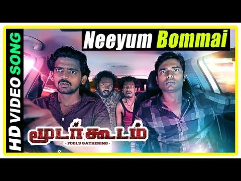 Moodar Koodam Movie Climax Scene | Neeyum Bommai Song | Naveen And Friends Decide To Start Over