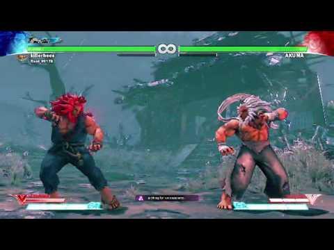 Street Fighter 5 Akuma Raging Demon Youtube