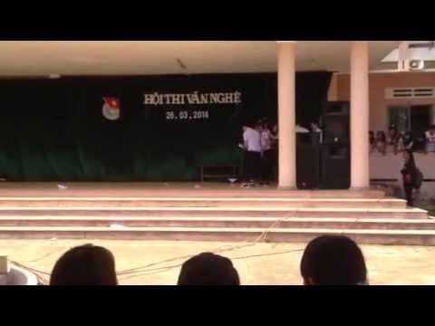 [22/03/2014] 12B3 Kịch câm - THPT Quang Trung Daklak
