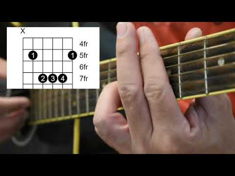 When the smoke is going down - fingerstyle tutorial- Part 2.