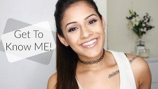 GET TO KNOW ME! (Tamil | Vegan | Family | Vet School | Tattoos | Dance)