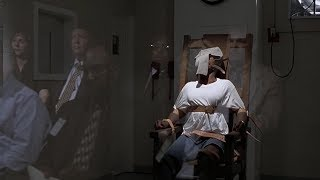The prisoner was sentenced to die in the electric chair