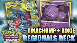 CRAZY GOOD HONG KONG DECK - TINACHOMP + WEEZING + ROXIE (Pokemon TCG)