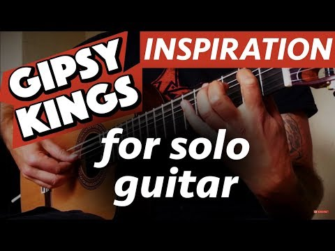 Inspiracion (Gipsy Kings) Solo Guitar Flamenco Rumba - Ben Woods
