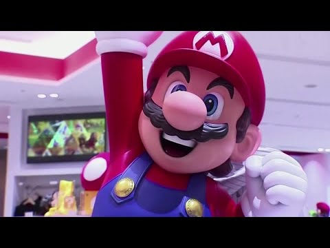 Nintendo posts five-fold profit jump