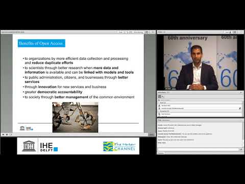 IHE Delft 💧 Alumni Online Seminar: Open Source Software and Open Data