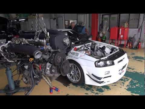 Mine's Infamous Nissan Skyline GT-R