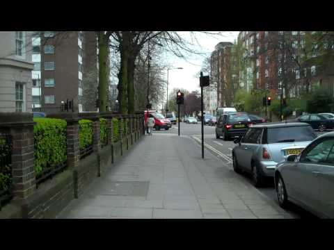 7 Cavendish Ave to 5 Abbey Road London on foot