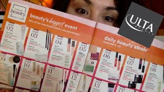 ULTA 21 DAYS OF BEAUTY RECOMMENDATIONS LIVE STREAM ~!