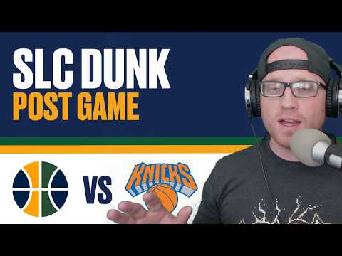 Utah Jazz lose to New York Knicks: Post Game Reaction!
