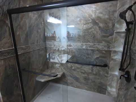 Custom shower installed in Hoyt, KS