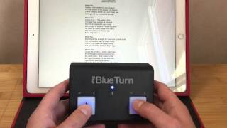 iRig Blue Turn ou comment tourner les pages de ses partitions sur tablette !