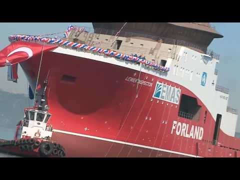 Cemre Shipyard NB114 Lewek Inspector (Havyard) Forland Offshore EMAS 130413