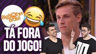 BBB 19: DIEGO É ESCORRAÇADO DA CASA PELO PUBLICO! | Virou Festa