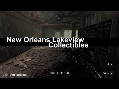 Wolfenstein 2 Collectibles - New Orleans Lakeview District